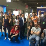 Gruppo RadUni al Campus Party