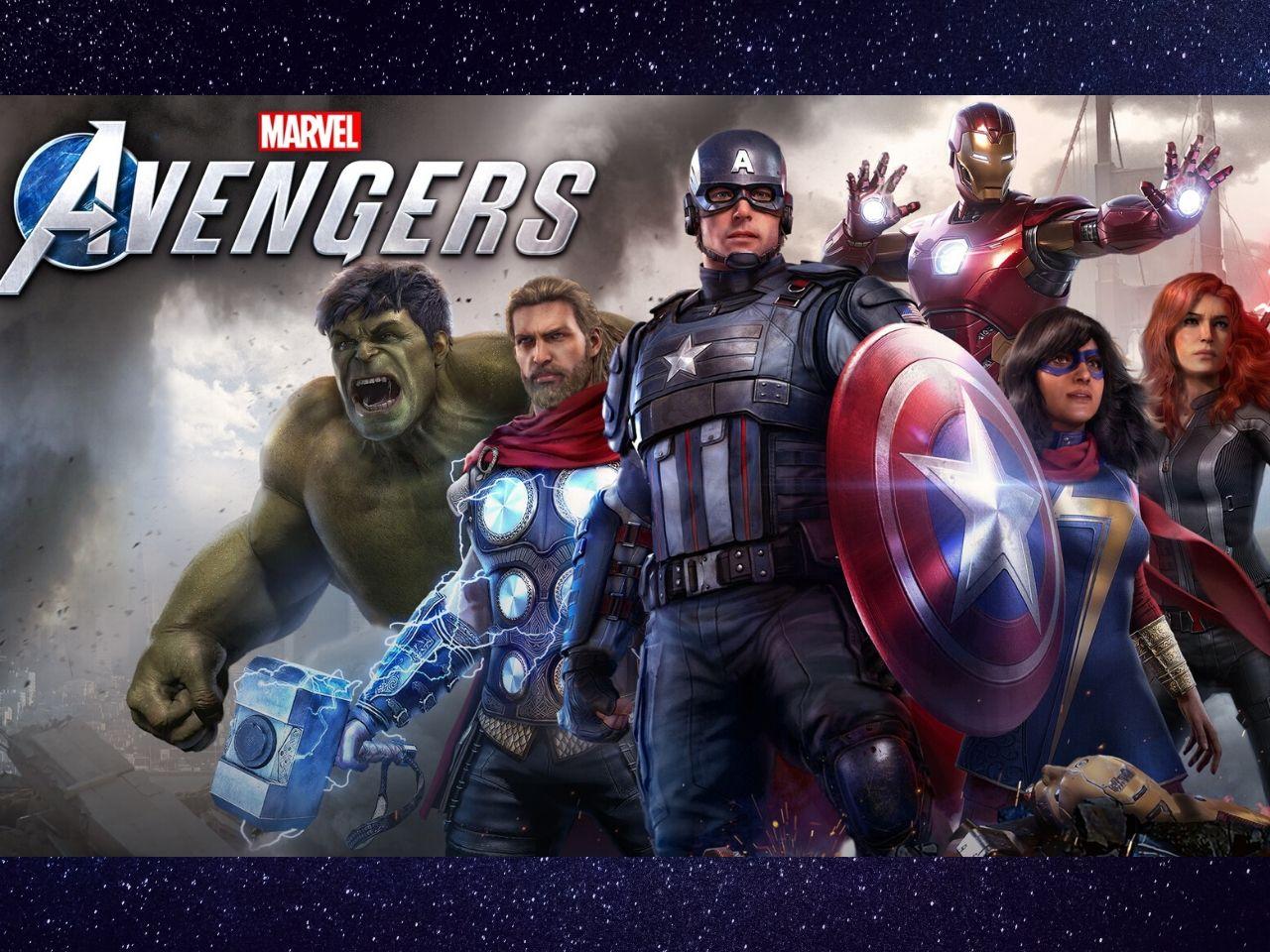 copertina Marvel's Avengers