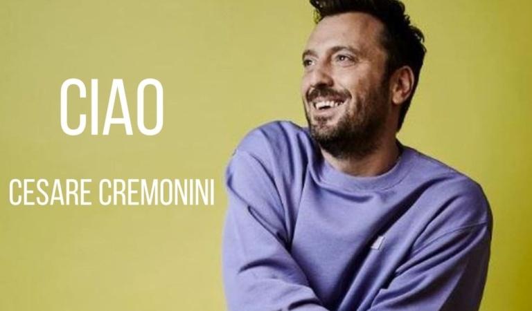 Cesare Cremonini canta Ciao per far pace con il passato