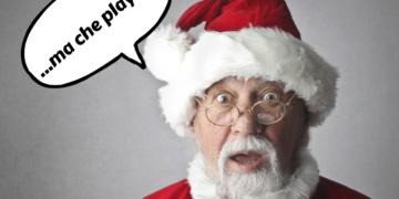 Babbo Natale stupito